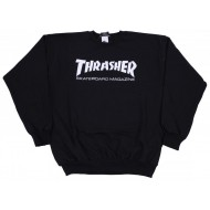 THRASHER SWEAT CREW NOIR