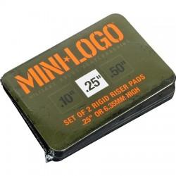 "MINI LOGO PADS 0.25"""
