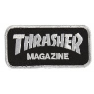 THRASHER PATCH SKATE MAG NOIR