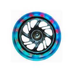 GLOBBER ROUES LUMINEUSES 120 MM MULTICOLORE
