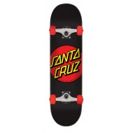 "SANTA CRUZ SKATE MID CLASSIC DOT RED 7.25""X 29.9"""