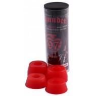 THUNDER BUSHINGS (JEU DE 4 GOMMES ) TUBE  97 D ROUGE