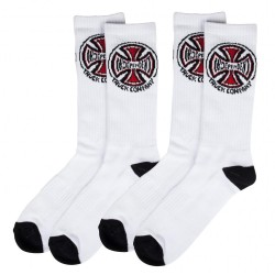 INDEPENDENT CHAUSSETTES BLANCHES TRUCK CO PACK X2