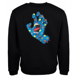 SANTA CRUZ SWEAT JACKPOT HAND NOIR