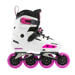 ROLLERBLADE JR APEX BLANC ROSE