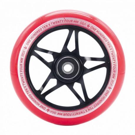 BLUNT ROUE S3 110 MM BLACK RED