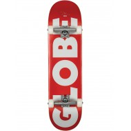 "GLOBE SKATE COMPLET G0 FUBAR BLACK RED 8.25"""