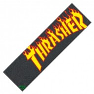 THRASHER GRIP PLAQUE MOB FLAME LOGO