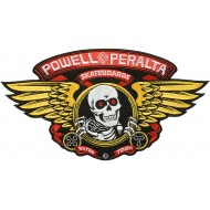 POWELL PERALTA PATCH WINGED RIPPER LARGE