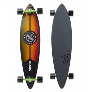 Z FLEX LONGBOARD 38 PINTAIL RASTA WOOD GRAIN