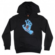 SANTA CRUZ SWEAT CAPUCHE JR SCREAMING HAND BLACK