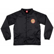 SANTA CRUZ JACKET CLASSIC DOT COACH BLACK JUNIOR