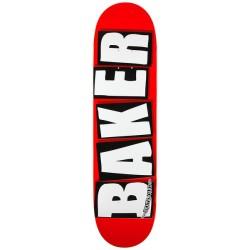 """BAKER PLATEAU BRAND LOGO WHITE 8.125"""" X 31.25"""""""