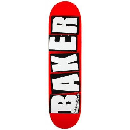"BAKER PLATEAU BRAND LOGO WHITE 8.0"""