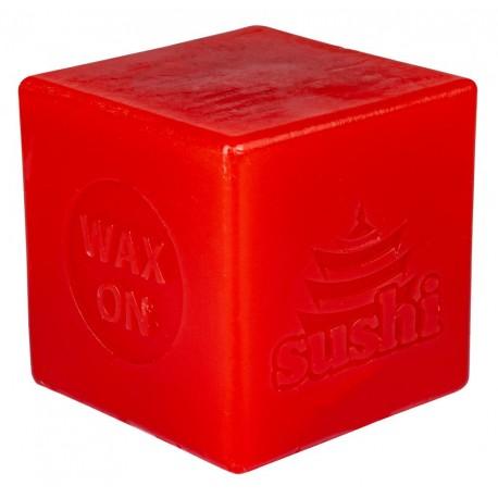 SUSHI WAX CUBE ROUGE 6CM