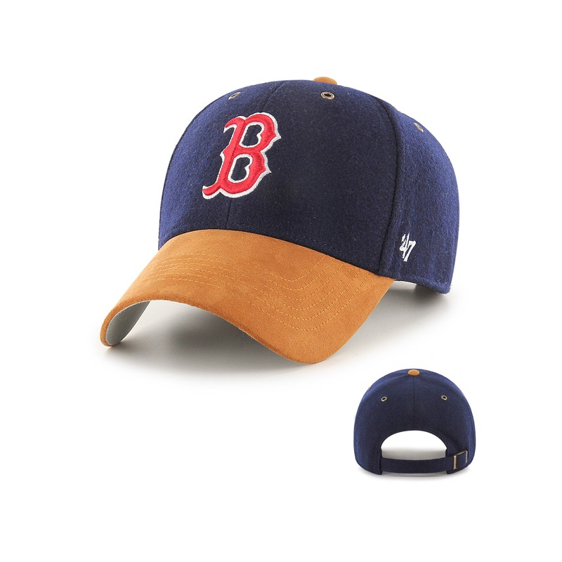 photos officielles 83594 191bc Casquette 47 brand Boston red sox MVP Willowbrook Navy