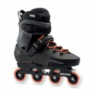 ROLLERBLADE TWISTER EDGE 80 NOIR ROUGE
